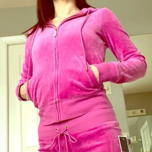 Juicy Couture Glamour Pink track suit